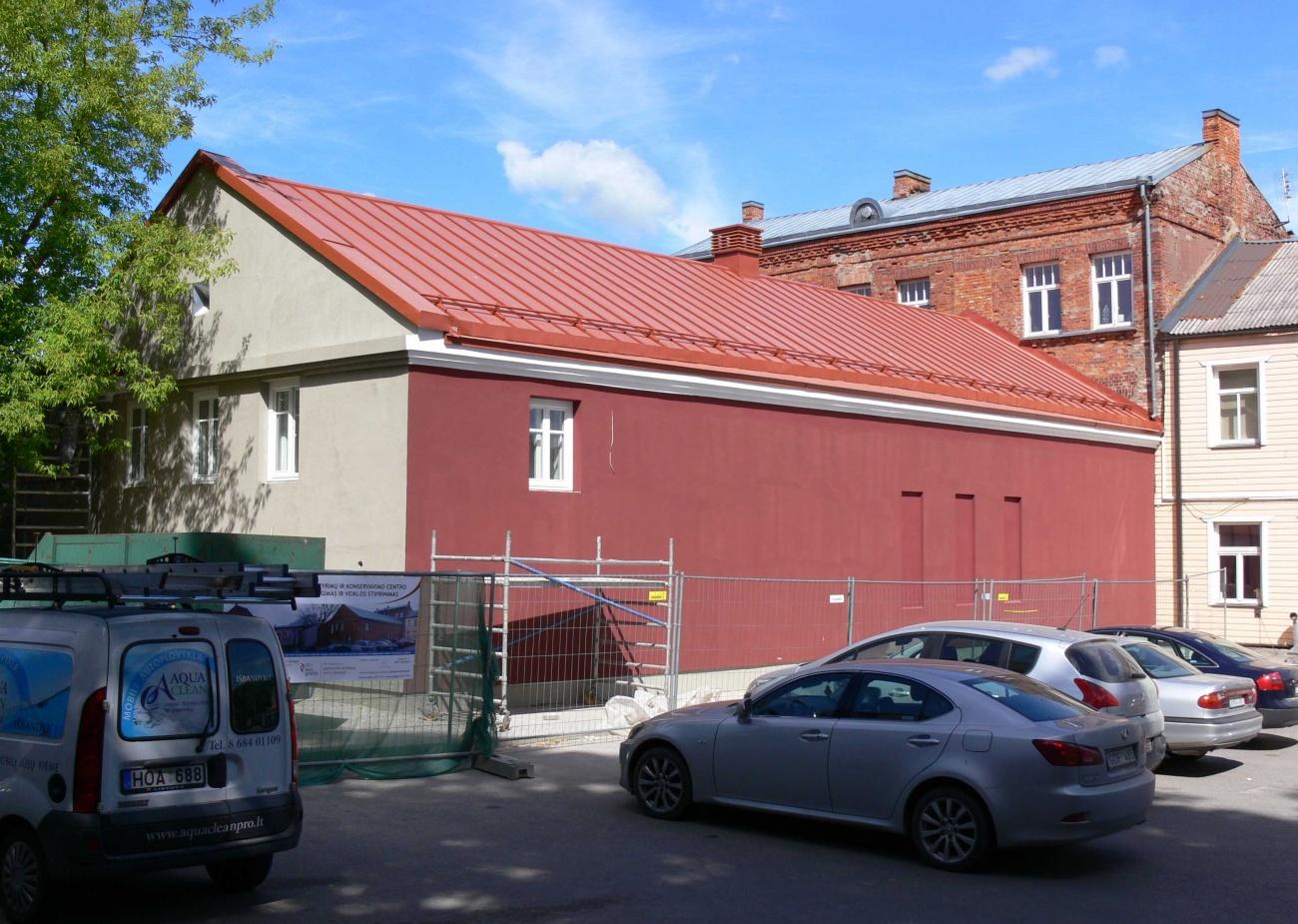 Baigiami pastato išorės tvarkymo darbai