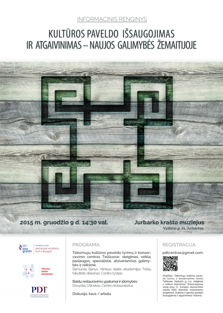 Informacinis renginys Jurbarko krašto muziejuje